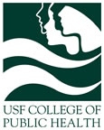This is the logo of USF Public Health. The College of Public Health assisted Brian Brijbag with this research project.